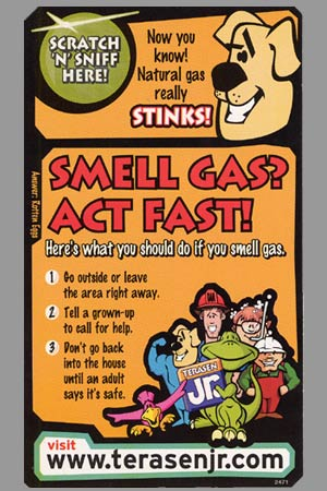 Work Sample Natural Gas Scratch 'N Sniff